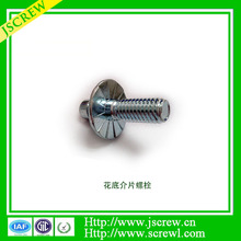 Factory price zinc plated kinds of special bolt