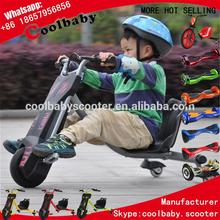 PH16 new Power flash rider 360 scooter of 3 wheel kids electric beach cruiser bicycle 3 wheel electric bicycle