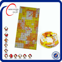 tubular bandana, seamless bandana, multifunctional bandana