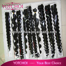 top quality brazilian virgin hair AAAAA grade deep wave and body wave hair, no lice!no gray!no shedding guarantee