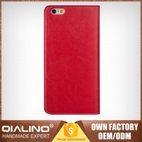 Brand New Top Quality Reasonable Price First Layer Leather Cover For I Phone 6