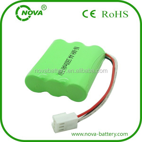 Ni-mh Rechargeable Battery Pack Aa 3.6v 1600mah Batteries ...