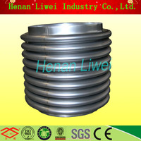 Stainless steel heat exchanger bellows expansion joint