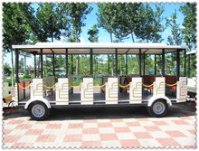 we manufacture the safest train!!Used advanced technology trackless diesel amusement park train for sale!!