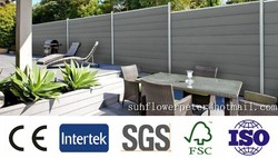 decorative garden fence,wpc wall panel,wood plastic decorative garden fence