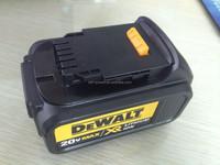 Dewalt 20v cordless drill battery 4000mah li ion battery