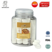 1000g New disposable pedicure manicure spa fizz for foot spa chair in massager , milk and honey fragrance