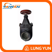 1PC Full Bore Screw End DIN Cast Steel Rising Stem Gate Valve