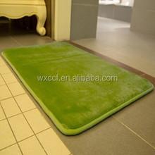Cheap floor tiles memory foam toilet mat set
