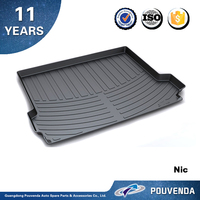 Trunk Mat for BMW X3 New X3 2011-2015 Boot Cargo Mats Liner 3D bootliner whateproof New Genuine Protector TPO Tailored
