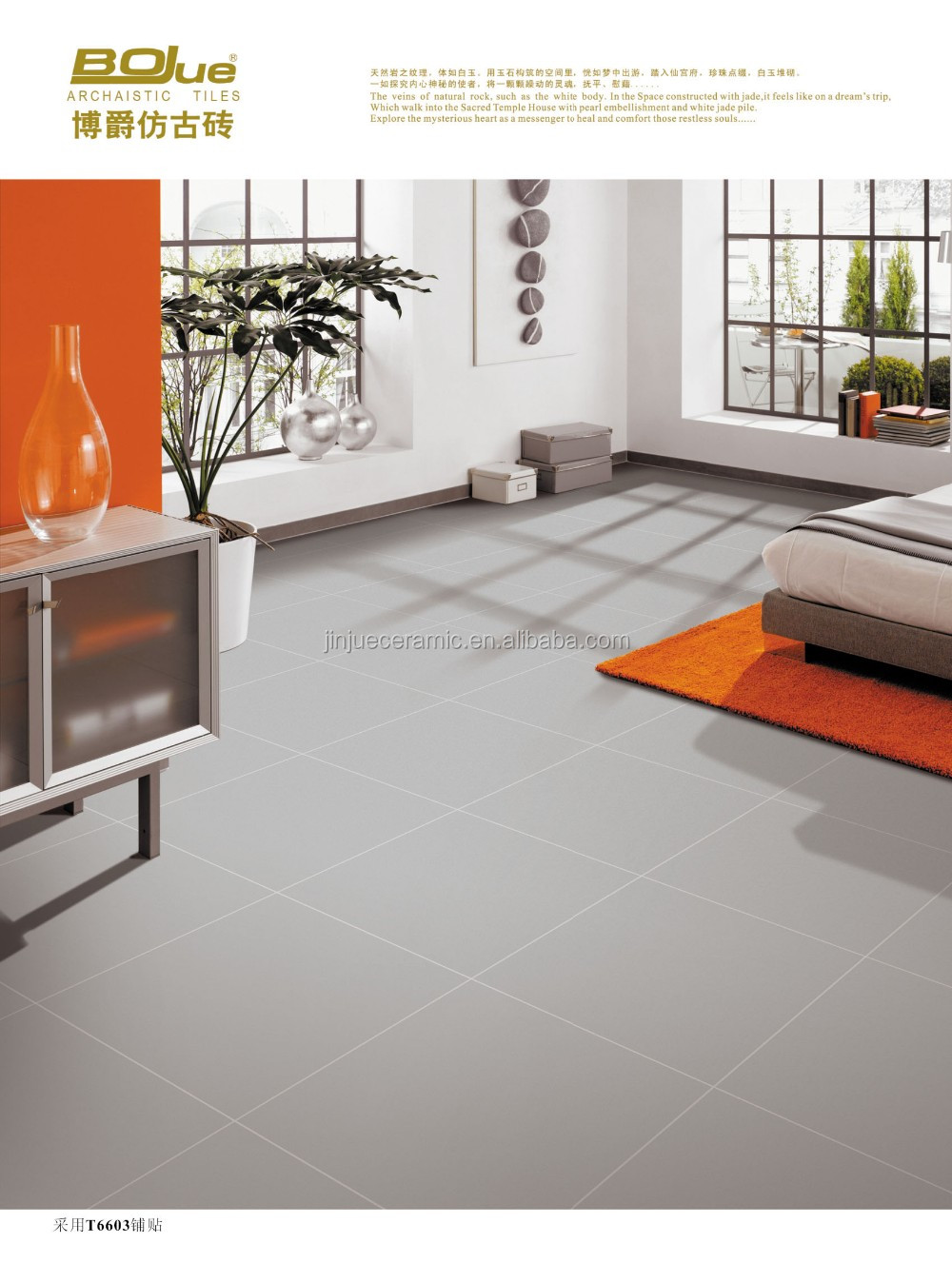 Can you change the color of ceramic floor tile