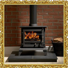 Cheap wood burning cast iron fireplace for sale