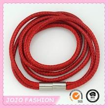 Popular Charm bangle Fashion New style European Personalized Leather Wrap around bracelet