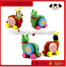 Hot Sell Wooden Pull Bell Toys