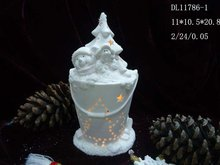 Christmas Cute Candle Holder for 2012 DL11786-1