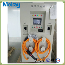 45KW~250KW commercial electric car charge station / Outdoor electric vehicle supply equipment