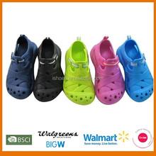 New design 2015 kids eva clogs shoes
