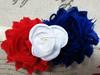 Factory Direct Elastic Patriotic Headband For Newborn ,Toddler, Infant