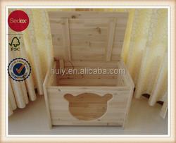 Factory best selling decorative wood dog kennels indoor