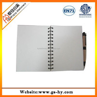 2014 Lastest sprial advertising notebook with pen