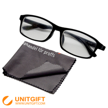 Customized German eyeglasses cleaning cloth microfiber terry cloth