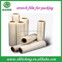 China Produced Manual Grade PE Stretch Film For Sale