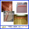 Fábrica profesional!!!!! Almabre de malla de cobre puro(99.5% de alta pureza)