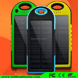 4 LED Camp Light Portable solar Power Bank 5000mAh