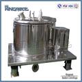 modelo pptd top descarga centrífuga cesta centrífuga industrial de separação