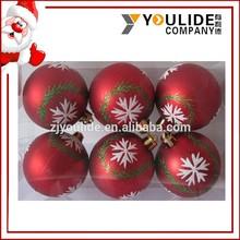 Promotional Handmade Christmas Ball For Christmas Tree Ornaments