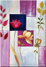 hanging wall frameless canvas painting