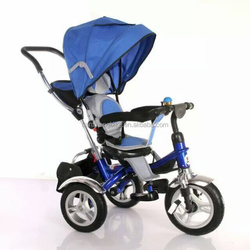China factory 3 wheel high quality turnable seat stroller tricycle for baby child