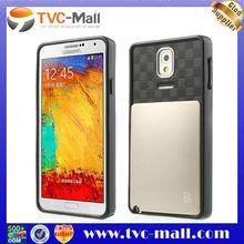 VERUS DamDa Card Slot PC + TPU Protector Case for Samsung Galaxy Note 3 N9005 - Gold