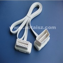 Best price gps tracker obd obd2 extension cable16 pin ribbon cable