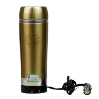 Stainless Steel Heated 12V Car Mug Portable Electric Water Heater