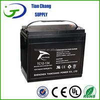 Exide 12V 133Ah Maintenance Maintainance Free Lead Acid Recharge Deep Cycle Gel Battery For Solar PV Power Storage
