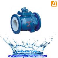 API 6d Cast Steel Flanged Floating Ball Valve china manufacturer