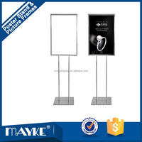 Unique Advertising Reinforced Poster Display Stand, POP display Picture frame, Shops Advertising Poster display stand,