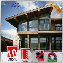 with AS2047 aluminium windows and doors energy efficient Double glazed window supplier