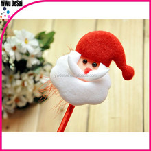 Korean cute design Christmas style ball point pen advertising ball pen