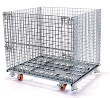 Industry Foldable Metal Wire Storage Cage