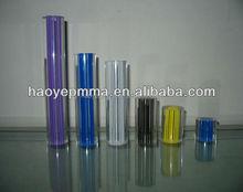 Foshan fábrica de plástico transparente varilla