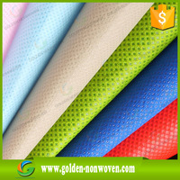 biodegradable waterproof fabric nonwoven manufacturer, non woven table cover ,non-absorbent fabric