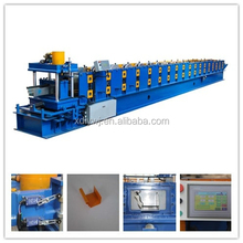 XDL Color sheet seamless gutter making machine for sale