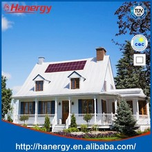 Hanergy solar panel for flat roof 1.5kw solar energy home system