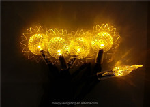 10L LED Christmas Sunflower Solar Light Christmas Decoration Light