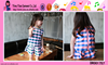 2015 Girls Summer Outfits Fashion Wholesale Custom Back Zipper Baby Frocks