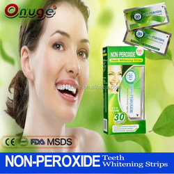 non-peroxide teeth whitening strips for home use,best strips ever,better than 3d Crest strips.