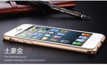 Mobile phone cover for apple iphone 6 case metal aluminum bumper frame case