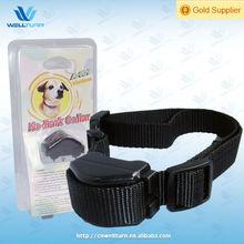 ABS+Nylon Safe n effective button cell No-Bark Collar for Puppy